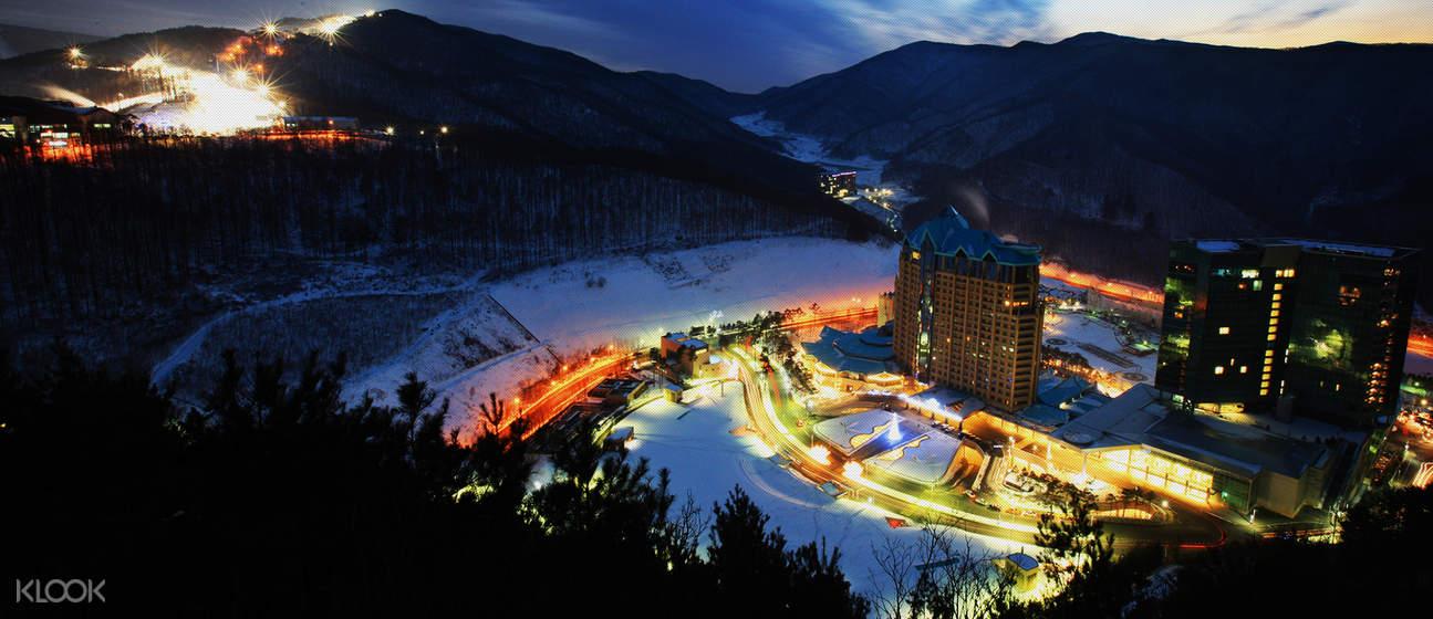 韩国 江原道 High1度假村