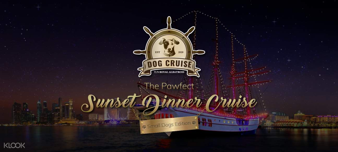 Sunset Dinner Cruise Dog Edition
