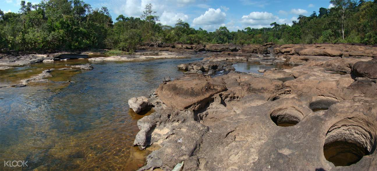 Phou Khao Khouay自然保護區一日遊