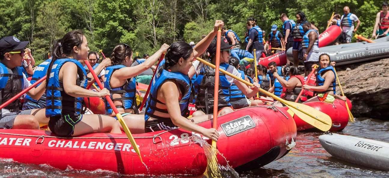 whitewater rafting adventure lehigh river new york