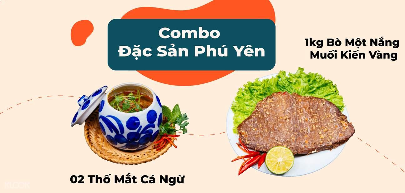 phu yen specialty food combo