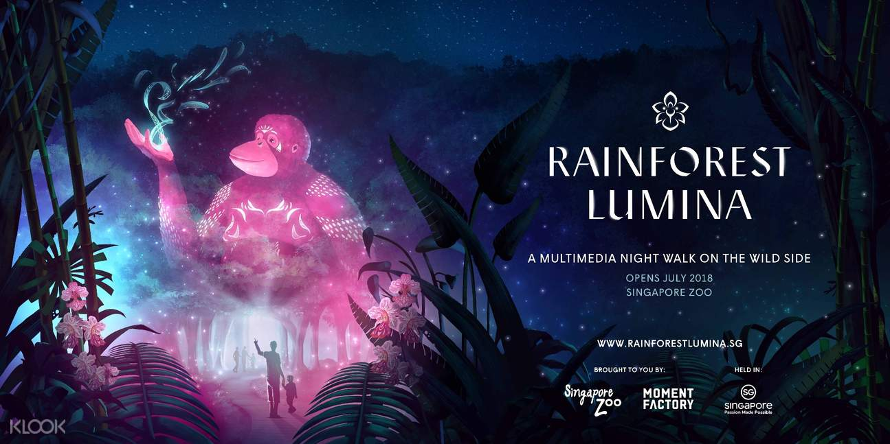 rainforest lumina ticket singapore zoo singapore