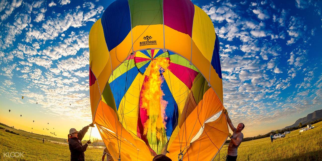 camden valley hot air balloon