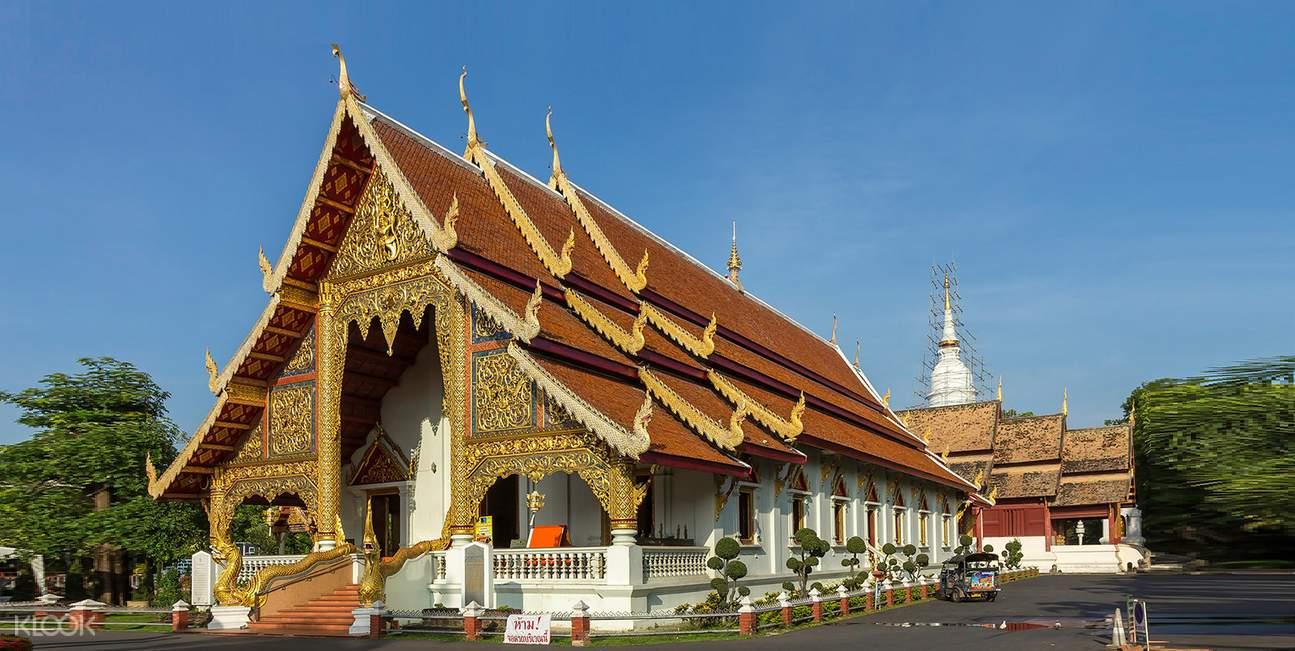 泰国 清迈古城 嘟嘟车