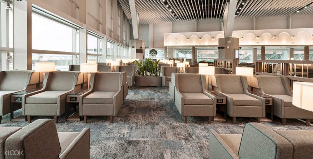 罗马机场休息室服务