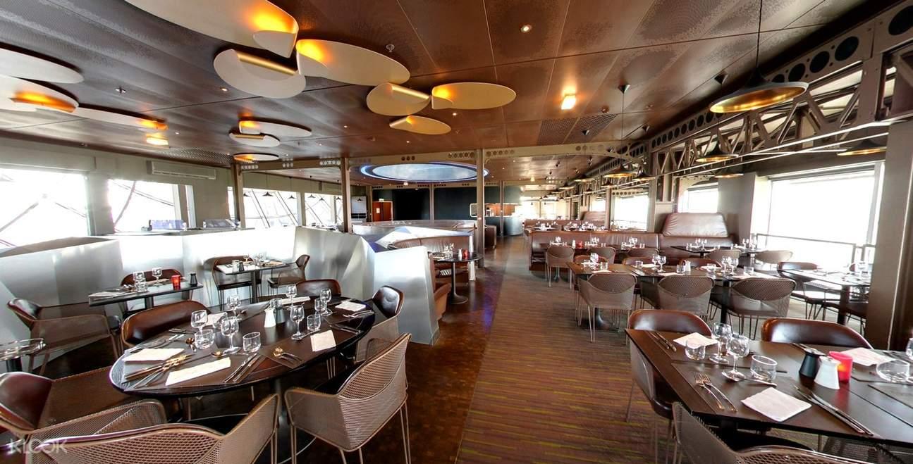 58 tour eiffel restaurant lunch meal