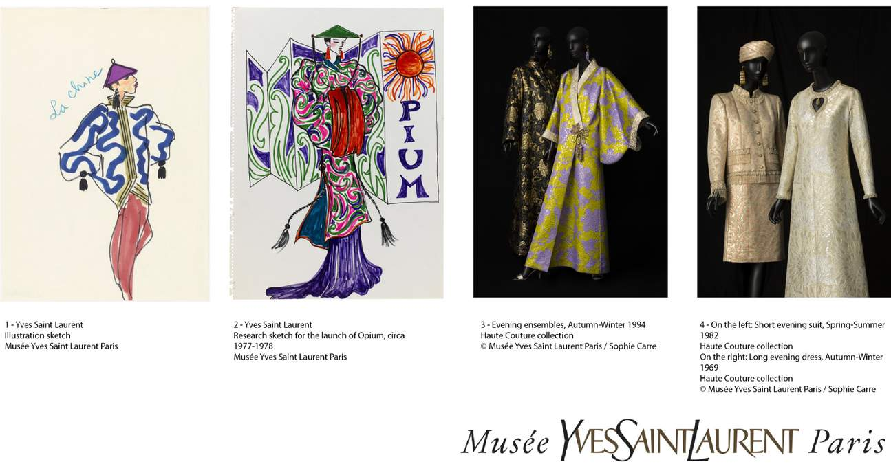 asia imagined by yves saint laurent