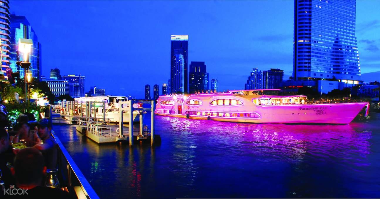 大珍珠號湄南河遊輪觀光