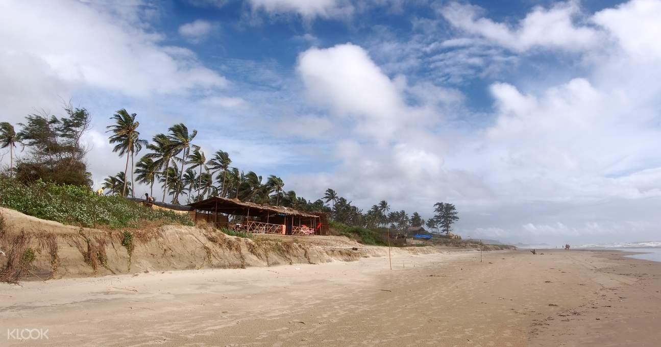Goa beaches Mandrem Beach with plenty of activities to indulge in