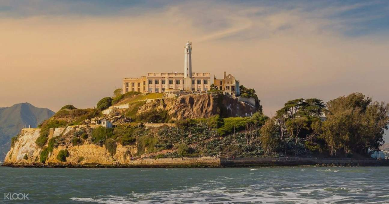 a view of Alcatraz Island