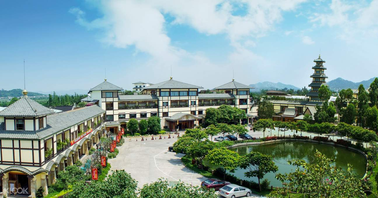 imperial hot spring resort in guangdong