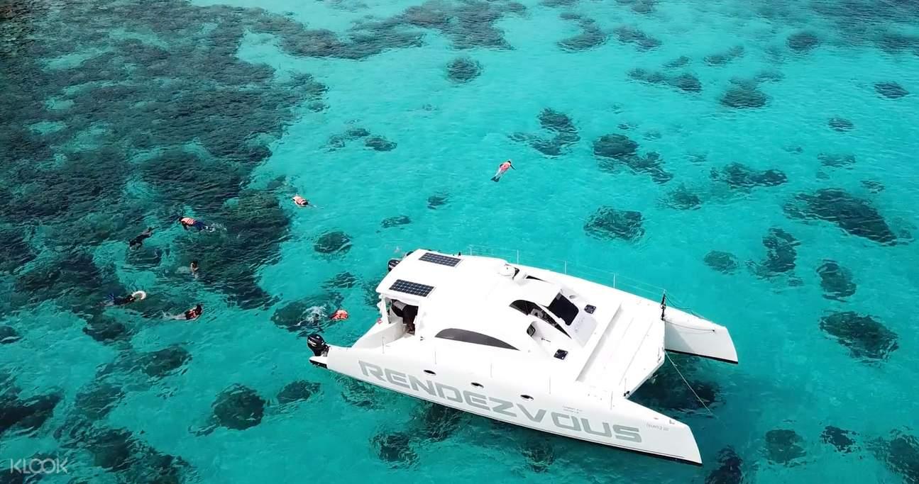 snorkeling in racha