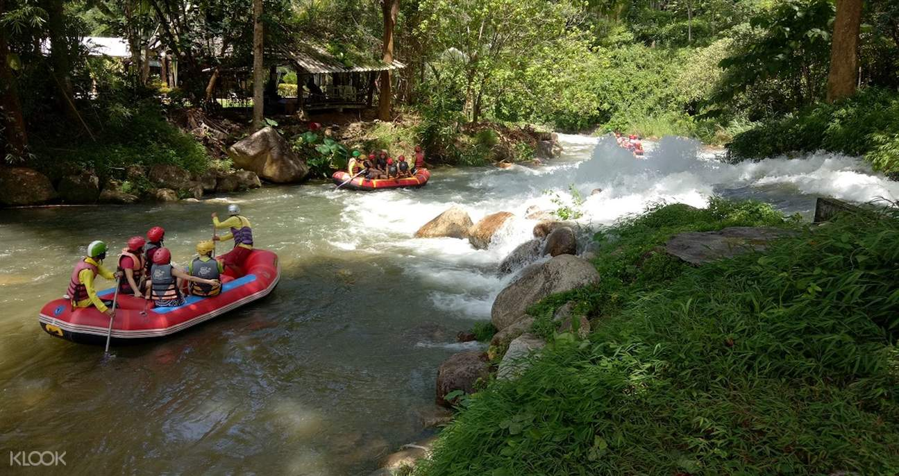 white water rafting experience full day tour krabi