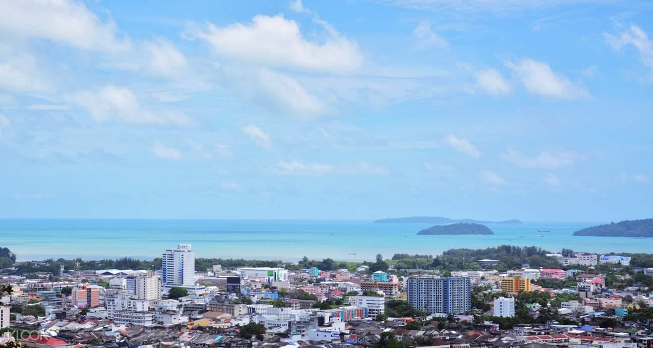 View from Phraya Ratsadanupradit Mahison Phakdi Monument