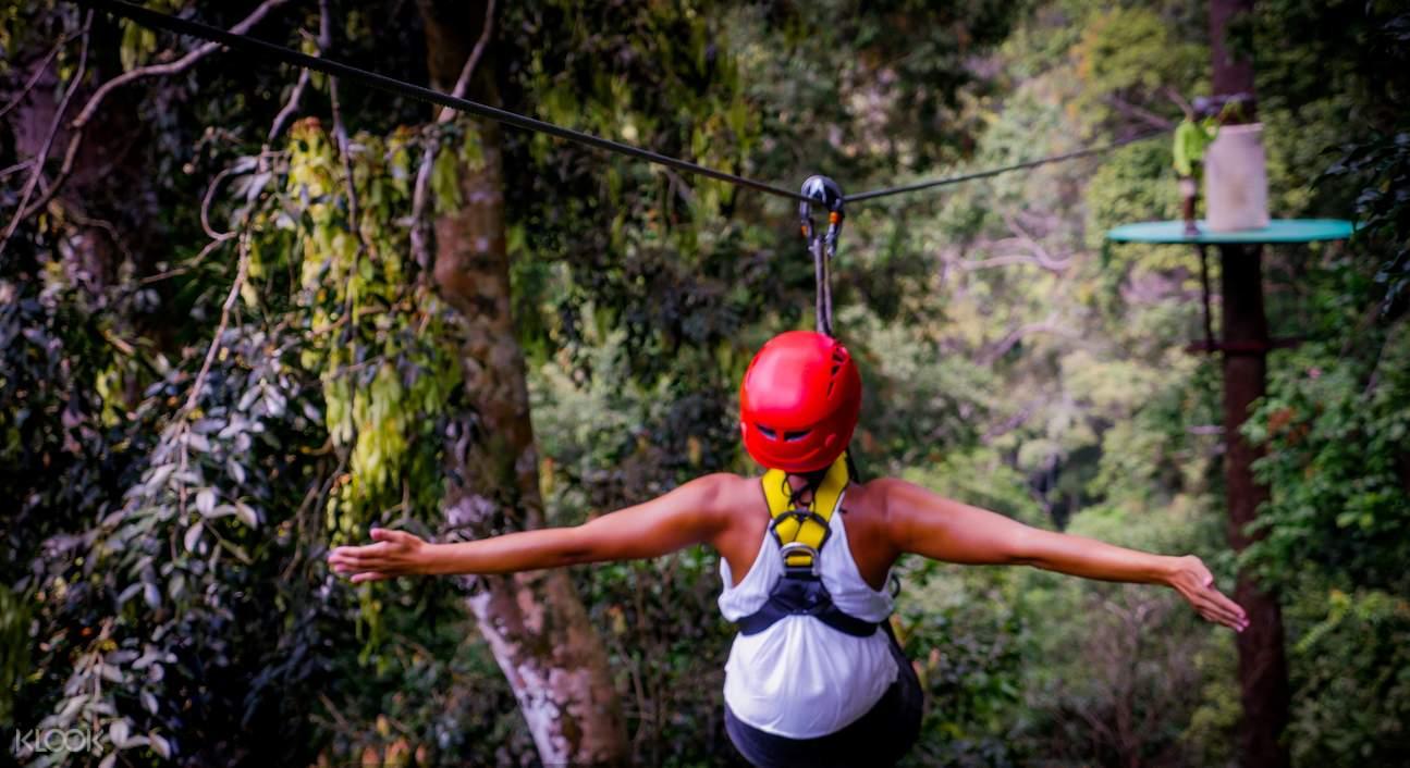 兰卡威高空滑索探险之旅