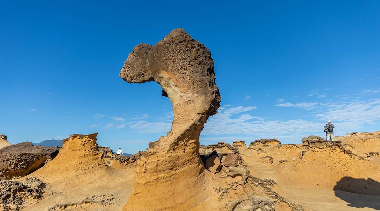 queen's head rock formation