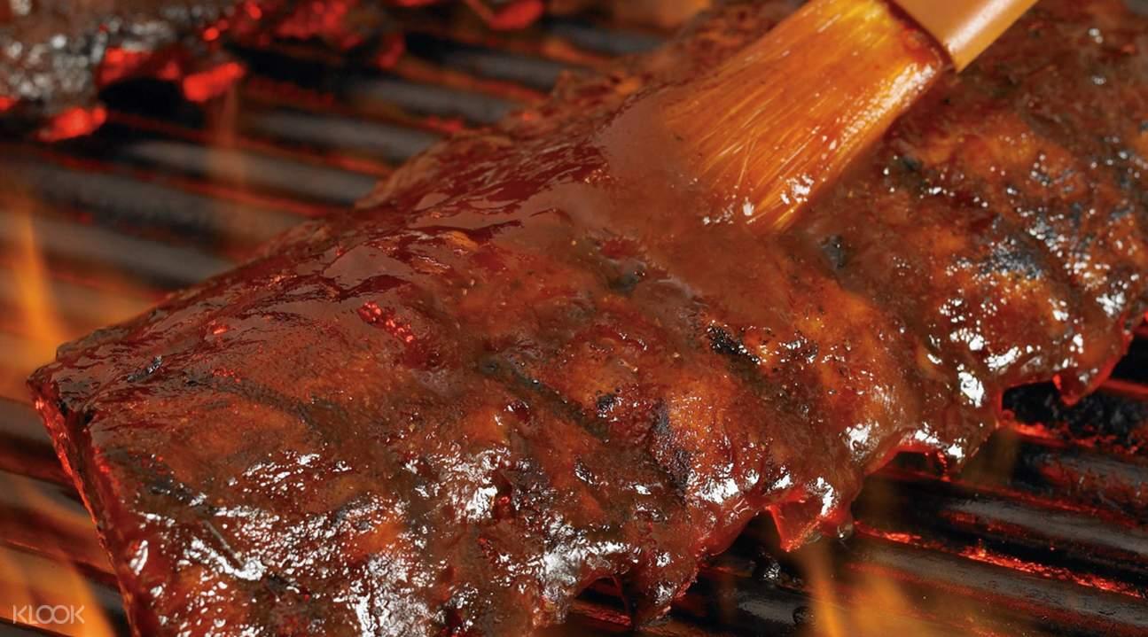 Outback Steakhouse,暹羅探索購物中心牛排,暹羅探索購物中心美食