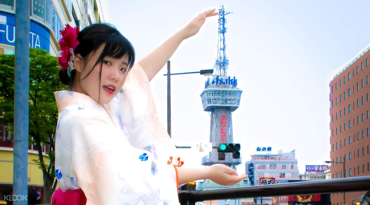 beppu angel kimono rental