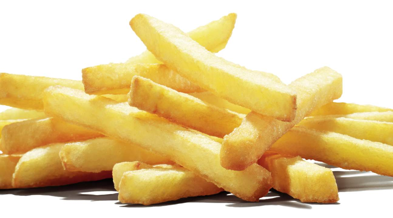 Enjoy your hot, thick and crispy french fries