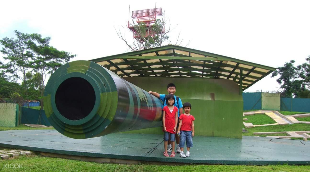 Monster Gun at Changi WWII Coach Half Day Tour