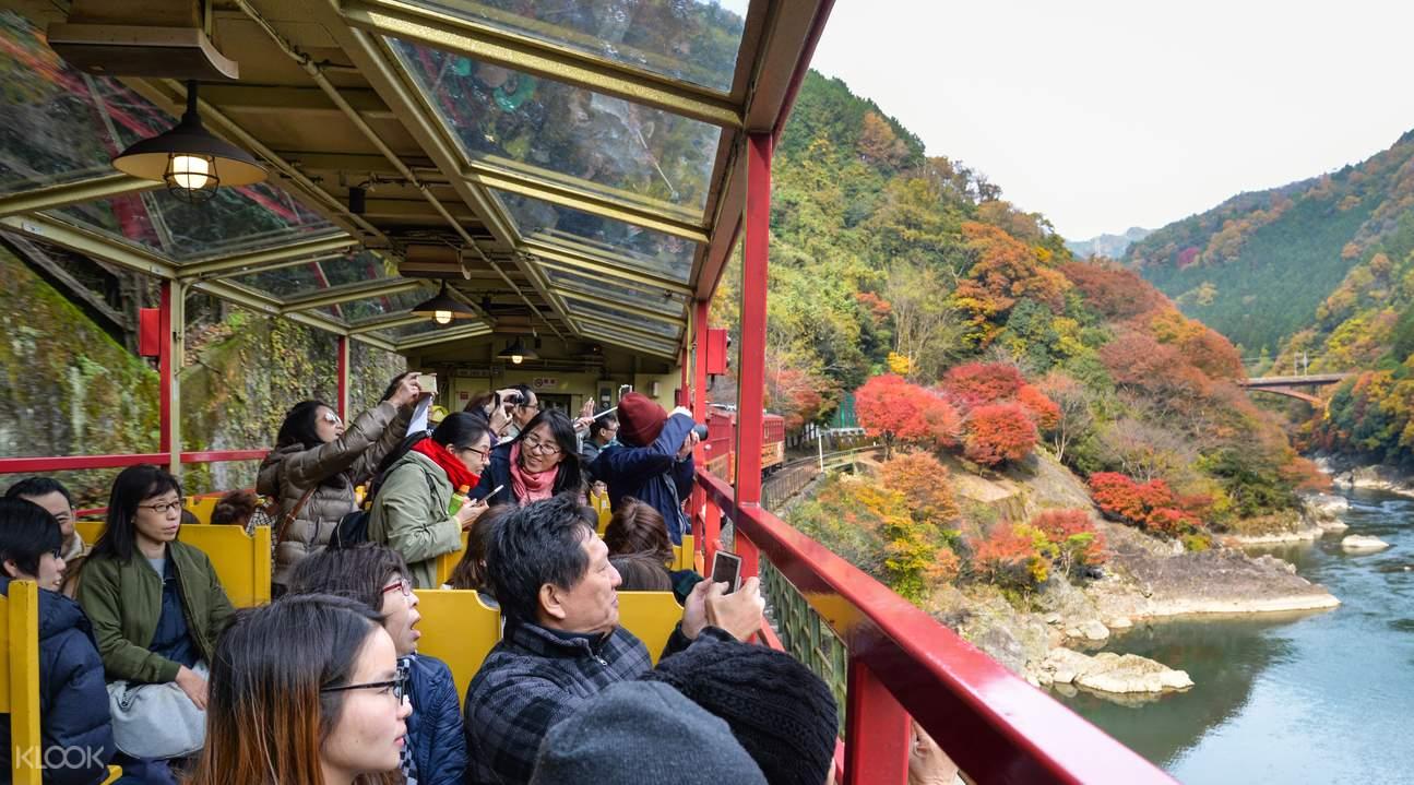 京都岚山小火车