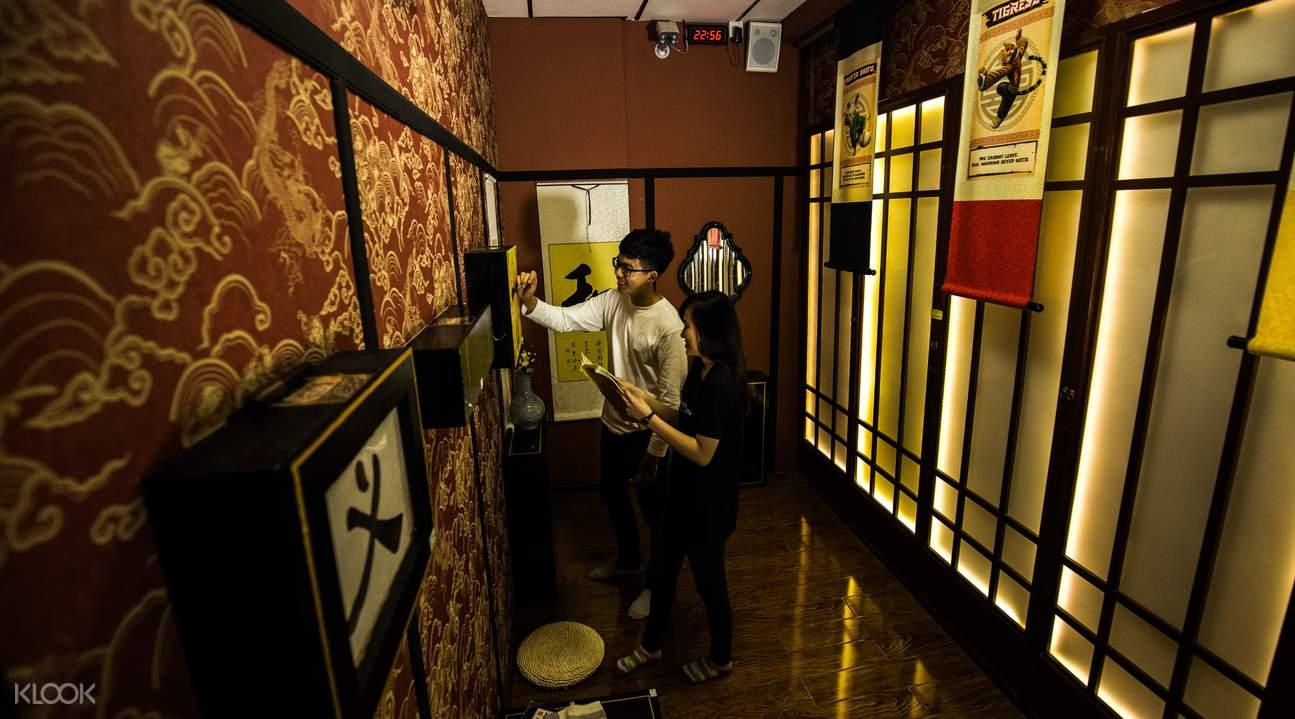 Xcape新加坡密室逃脱体验