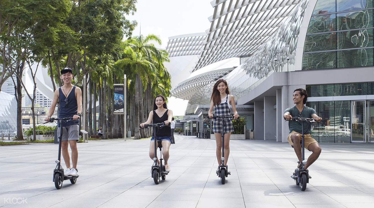 rent an e-scooter in SIngapore