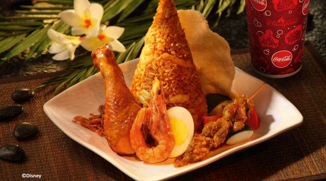 Hong Kong Disneyland nasi goreng