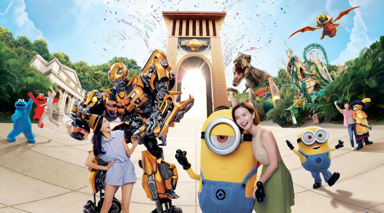 universal studios singapore poster