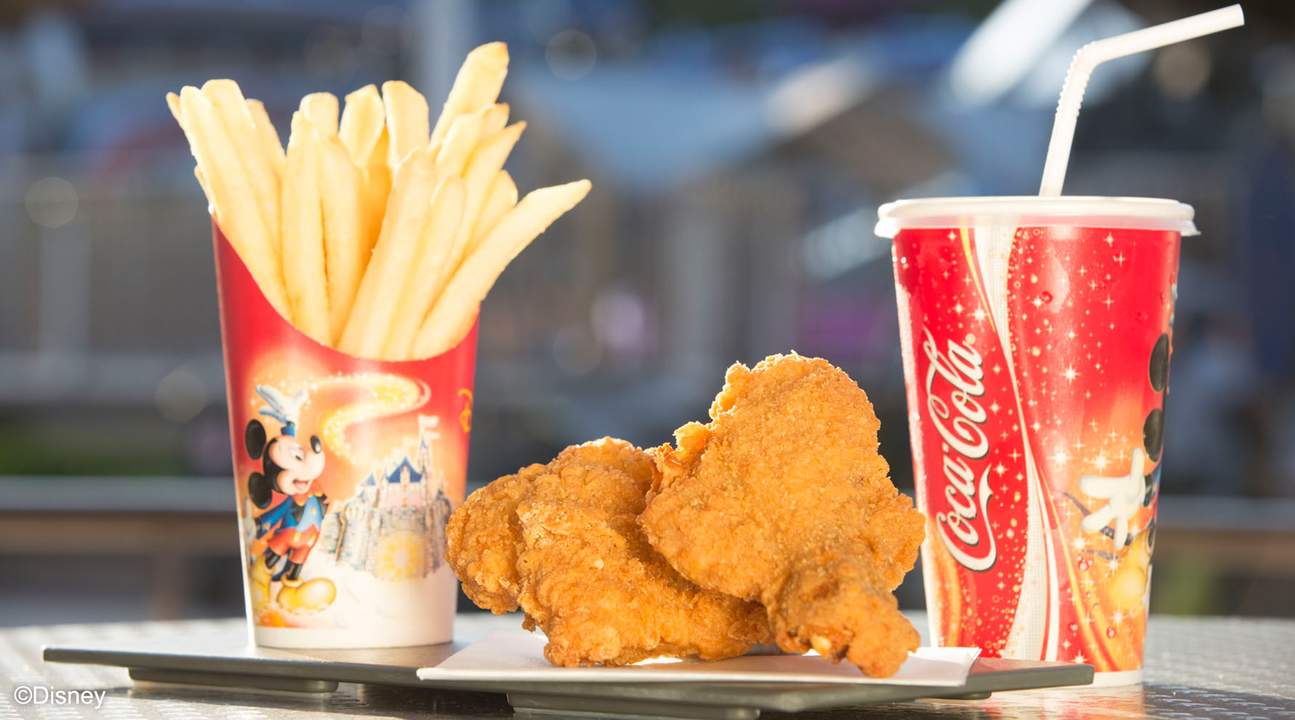 Makanan Disneyland