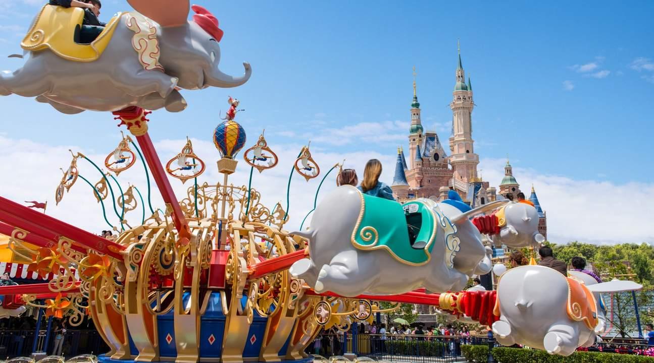 迪士尼樂園,這裡就是童真的世界