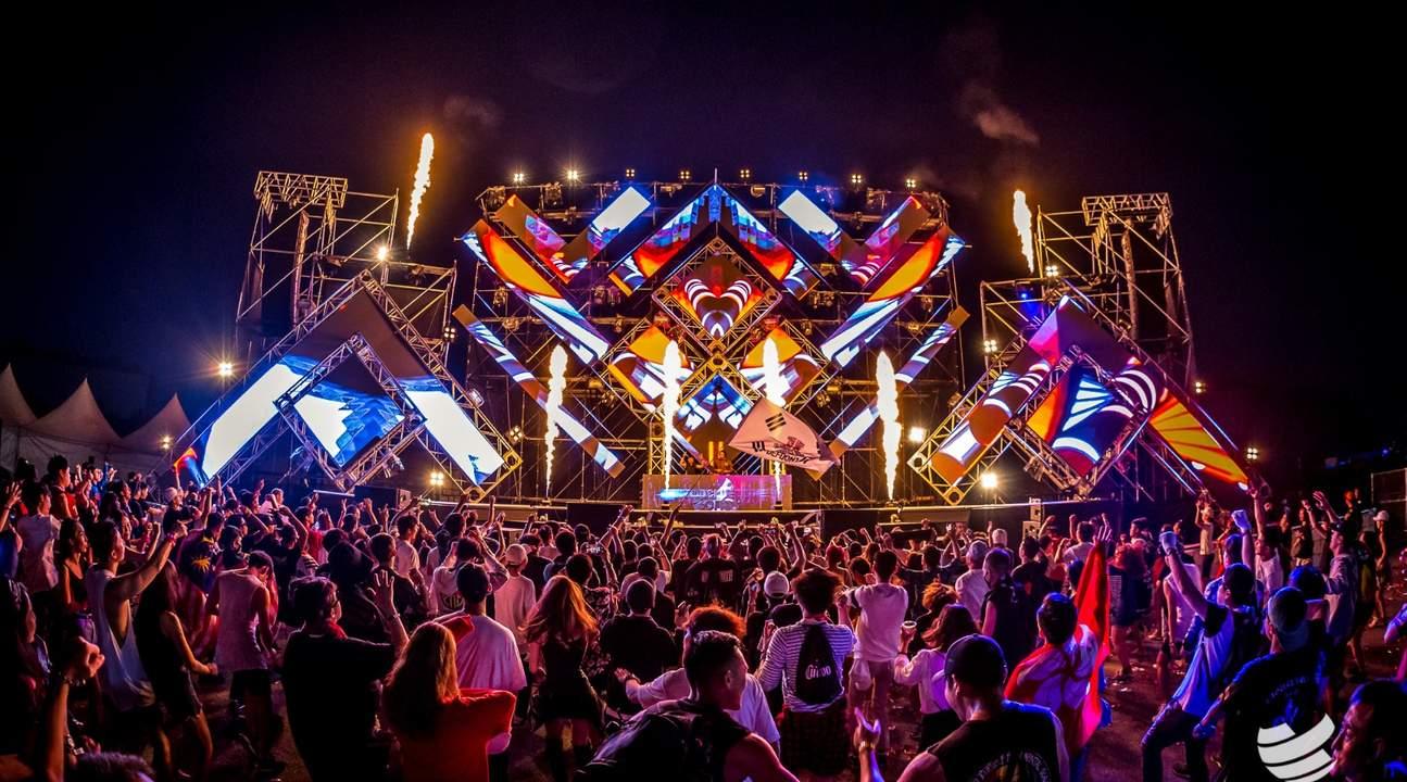 韓國EDM電子音樂節