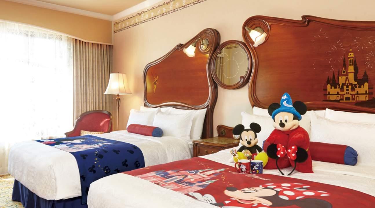 上海迪士尼樂園酒店米奇主題裝飾