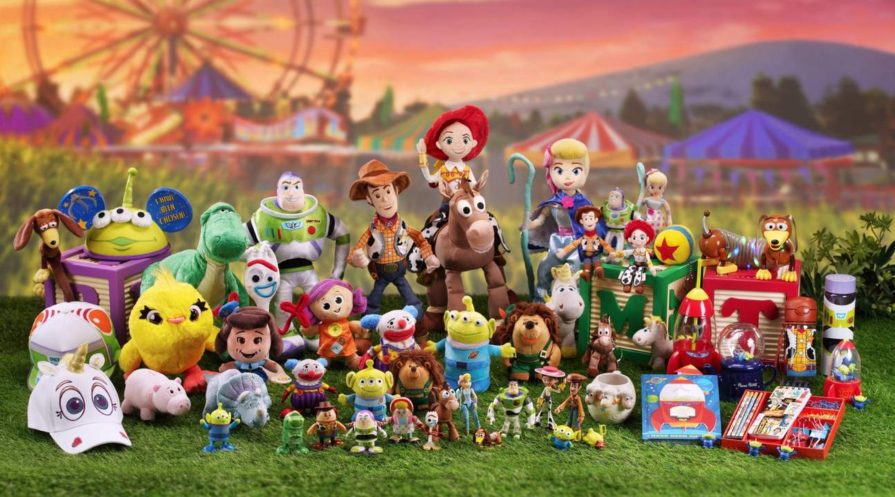 Toy Story toys and memorabilia