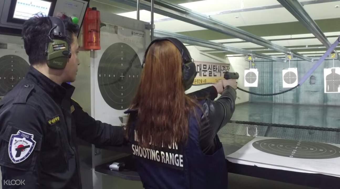 手槍及實彈