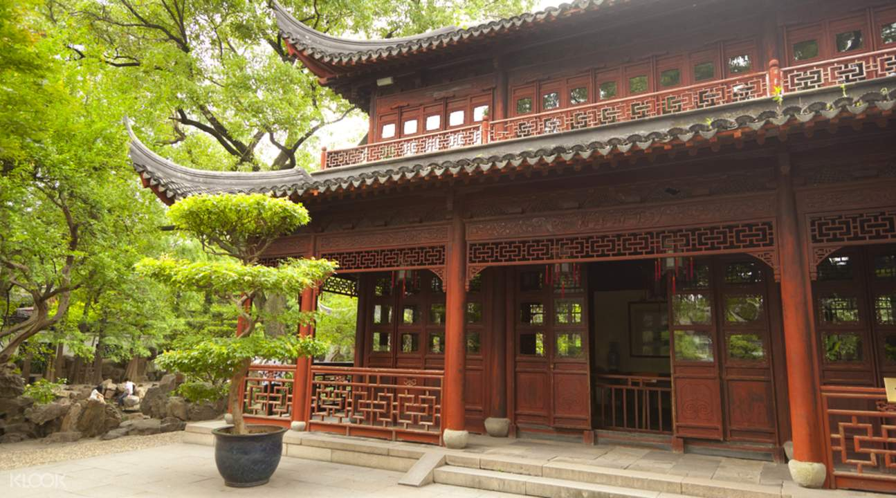 Shanghai yuyuan gardens tour