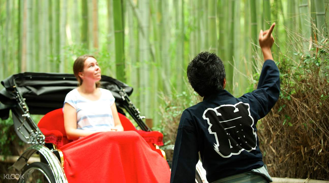 京都嵐山人力車