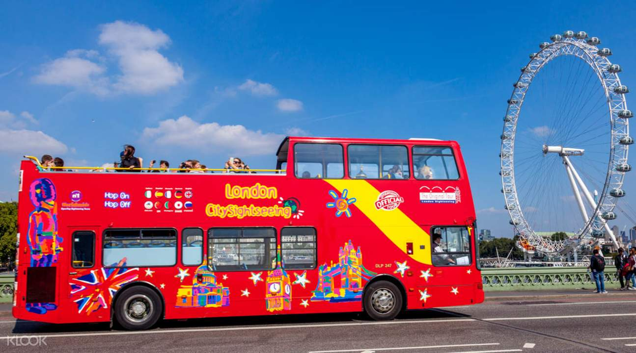 倫敦隨上隨下城市觀光巴士