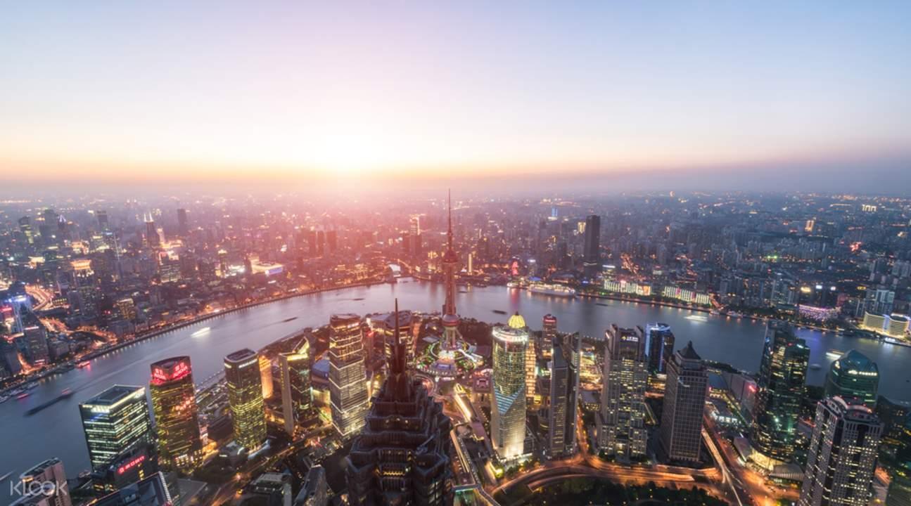 Shanghai pudong tour