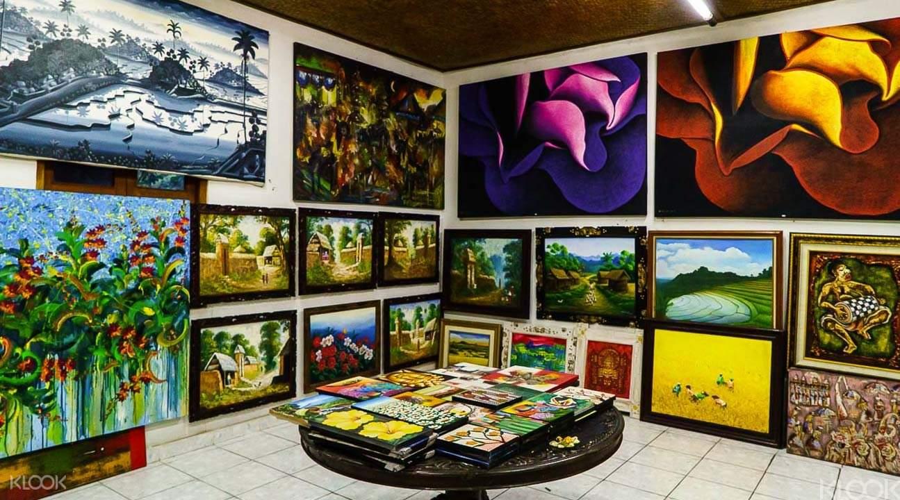 Art galleries Ubud tour