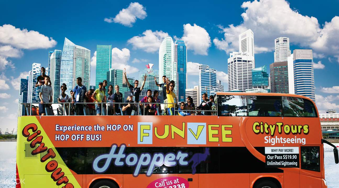 Singapore sightseeing bus