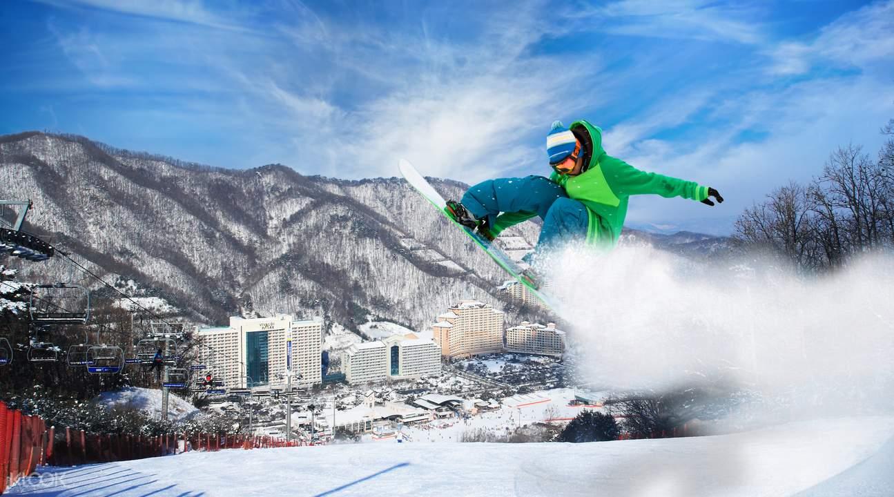 洪川大明vivaldi park滑雪場