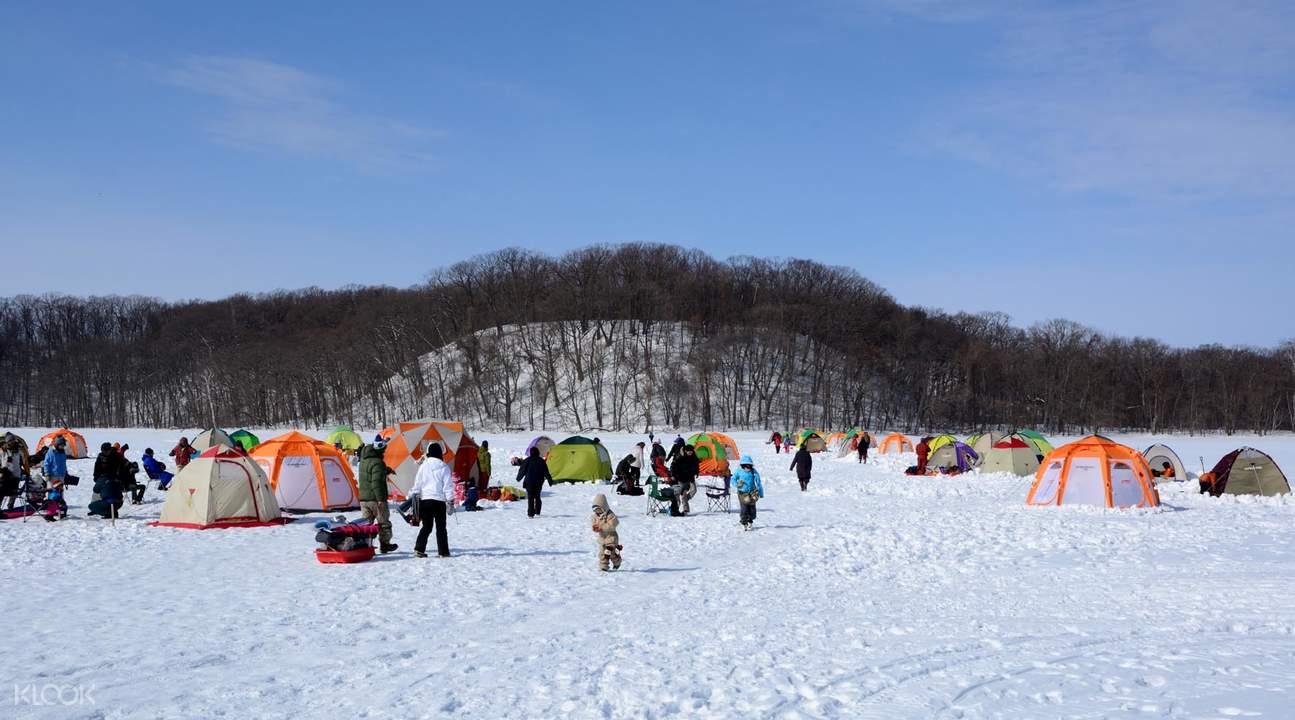 北海道 冰上釣魚