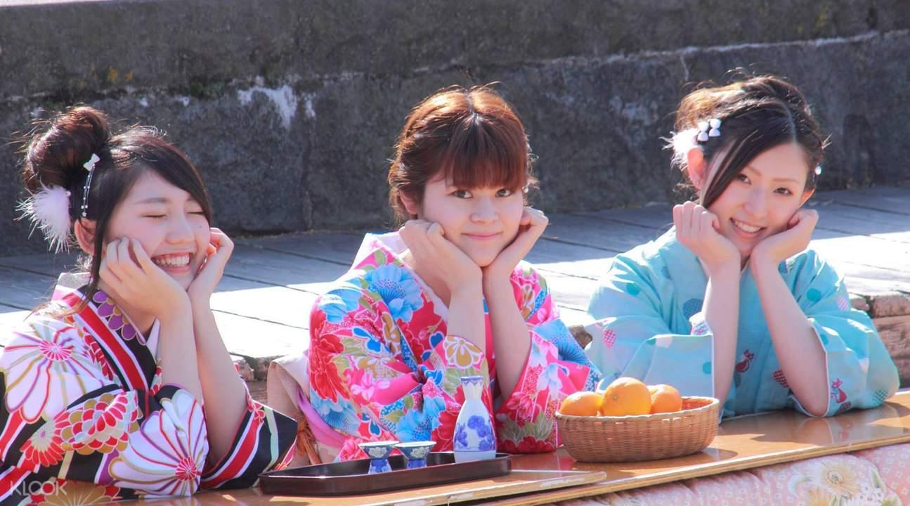 Kimono Photoshoot Fukuoka