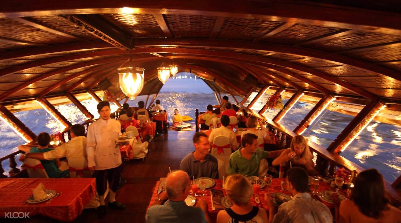 曼谷洛伊納瓦晚餐巡遊