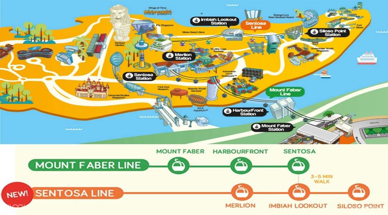 新加坡纜車游