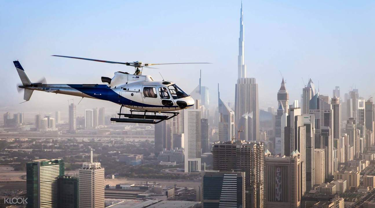 HeliDubai Helicopter Flight