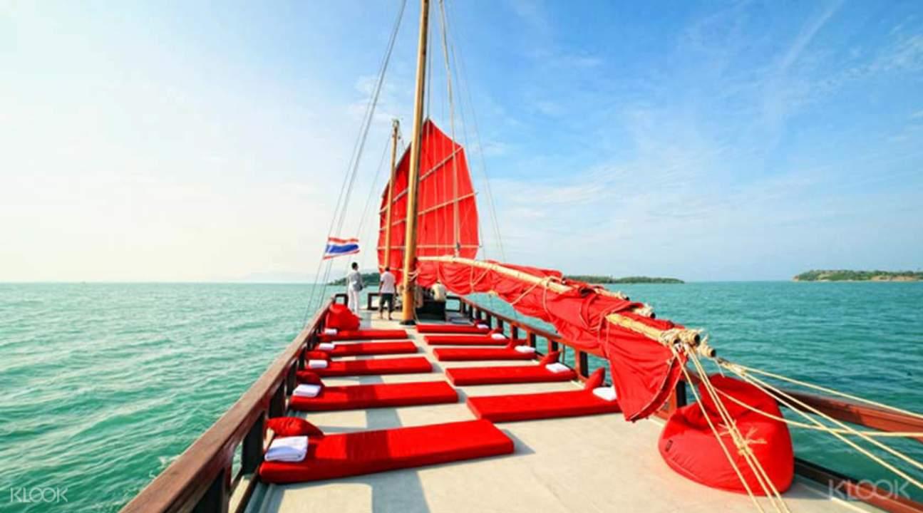 red baron cruise samui thailand