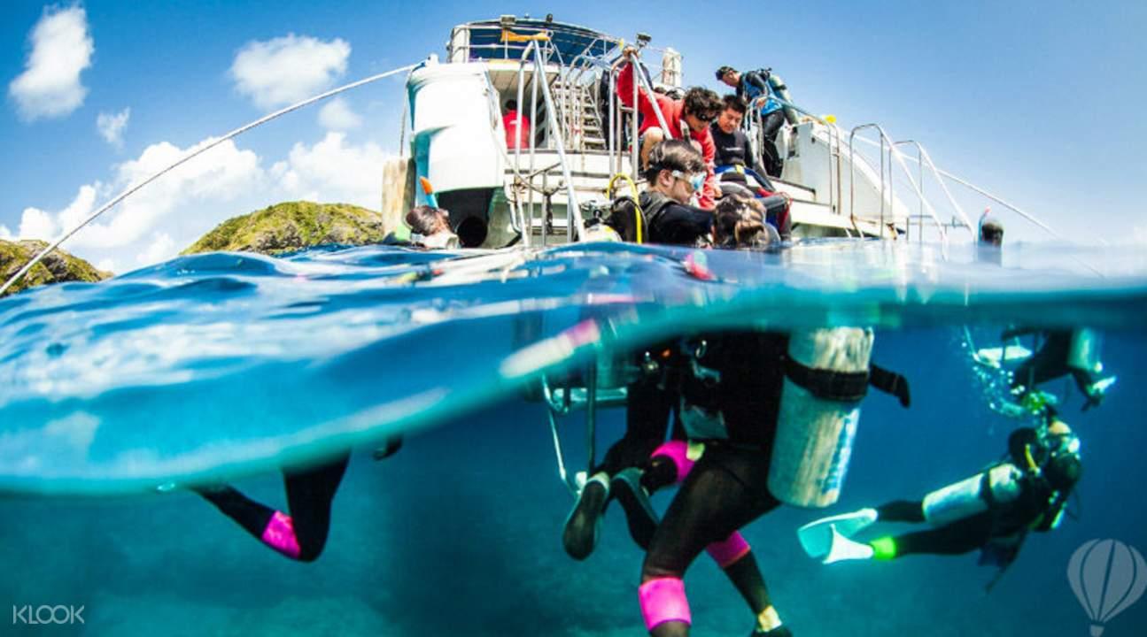 庆良间潜水体验