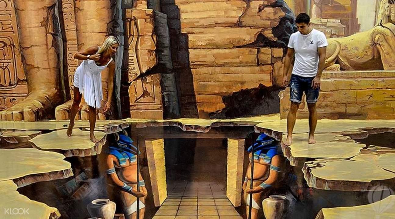 芭堤雅3D立體美術館
